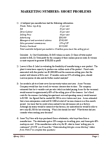 Business Administration 1220E Study Guide - Variable Cost, The London Free Press, Writing Implement