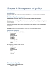 GMS 401 Lecture Notes - Check Sheet, Product Design, Plan Canada