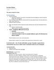 SOCA01H3 Lecture Notes - Mark Granovetter, Georg Simmel, Oligarchy