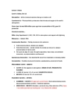 BIOL 101 Lecture Notes - Lightning, Ammonia, Dinosaur (Disney'S Animal Kingdom)