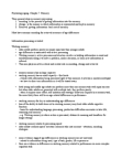 PSY313H1 Chapter Notes - Chapter 7: Sensory Memory, Information Processing, Implicit Memory