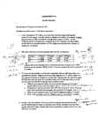 ECON 401 Assignment 3 Fall 2011 self generated solution