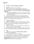 HLTC05H3 Lecture Notes - Lecture 7: Multiple Exposure, Corticosteroid, Tuberculosis