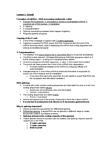 Biochemistry 2280A Lecture Notes - Precursor Mrna, Small Nuclear Rna, Nuclear Pore