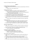 ECON 101 Chapter Notes - Chapter 9: Opportunity Cost, Economic Equilibrium, Demand Curve
