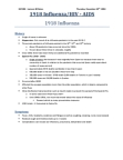 HLTB21H3 Lecture Notes - Lecture 10: Hemagglutinin, Headache, Reverse Transcriptase