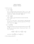 Calculus 1000A/B Lecture Notes - Trigonometry, Hypotenuse, Scilab