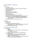 ENGL389 Study Guide - Mirkwood, Unending, Rivendell