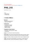 PHIL215 Lecture Notes - Nicotine, Puffery, Big Tobacco