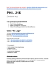 PHIL215 Lecture Notes - Hegemony, Arena, Naomi Klein