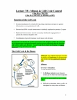Biology 2382B Lecture Notes - Lecture 7: G2 Phase, Schizosaccharomyces Pombe, Chromosome Segregation