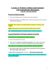 Biology 2382B Lecture Notes - Oligosaccharide, Peroxisome, Organelle