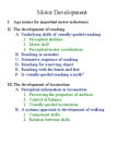 PSYB32H3 Lecture Notes - Lecture 4: Motor Skill, William Harris Ashmead, Perspective Control