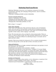 MCS 1000 Study Guide - Final Guide: Personal Selling, Final Good, Determinant