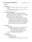 Management and Organizational Studies 2275A/B Study Guide - The Employer, Vicarious Liability, Canada Pension Plan