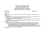 ADMS 2500 Study Guide - Midterm Guide: 6 Years, Trial Balance, Electrical Contacts