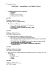 GGR270H1 Study Guide - Sampling Distribution, Binomial Distribution, Central Tendency