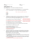 GGR270H1 Study Guide - Final Guide: Ap Statistics, Distilled Water, Sulfur Dioxide