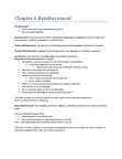 Kinesiology 1088A/B Lecture Notes - Misdemeanor, Reinforcement