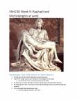 Week 9 notes - Raphael and Michelangelo.pdf