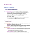 BUS 272 Chapter Notes - Chapter 11: Big Five Personality Traits, Fiedler Contingency Model, Ken Blanchard