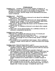 MATH 2565 Lecture Notes - Confidence Interval, Statistical Parameter, Type I And Type Ii Errors