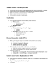 BIOL 1602 Lecture Notes - Cytosine, Messenger Rna, Cell Nucleus