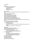 SOCI 2030 Lecture Notes - Tina Turner, Endogamy, 18 Months