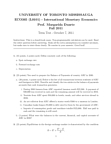 ECO365H5 Study Guide - Midterm Guide: Foreign Exchange Spot, Money Supply, Nominal Interest Rate