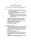 SOSA 3143 Study Guide - Canada Health Act, Human Ecology, Crystal Ball
