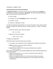 CHMB20H3 Lecture Notes - Silver Oxide, Stoichiometry, Triethylene Glycol