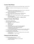 BIOL 110 Lecture Notes - Prostaglandin, Thromboxane, High-Density Lipoprotein
