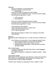 NMC103H1 Lecture Notes - Empire Records, Rashidun, Vicegerent
