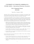 ECO365H5 Study Guide - Midterm Guide: Money Supply, Spot Contract, Interest Rate Parity