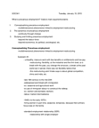 SOC341H5 Lecture Notes - Precarious Work, Industrial Unionism