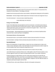 SCIE 1P50 Lecture Notes - Ed Markey, Environmental Science, Environmentalism