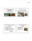 ANTB22H3 Lecture Notes - Common Chimpanzee, Insectivore, Bamboo Lemur