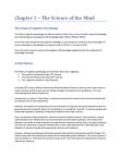 PSYB57H3 Chapter Notes - Chapter 1: Cognitive Revolution, Behaviorism, Wilhelm Wundt