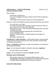 ANTH 227 Lecture Notes - Participant Observation, Narrative, White Coat