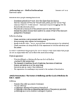 ANTH 227 Lecture Notes - Lecture 3: Participant Observation, Carl R. May, Personal Account