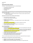 PSYC 101 Lecture Notes - Sickle-Cell Disease, Encephalization, Egg Cell