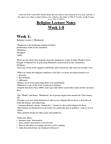 RLGA01H3 Lecture Notes - Old Texts, The Tradition, Ravidas