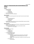 ANT203Y1 Lecture Notes - Lecture 14: Thermoluminescence, Serengeti, Piltdown Man