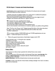 PSY346H5 Lecture Notes - Epidural Hematoma, Glasgow Coma Scale, Traumatic Brain Injury