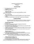 PSYO 2090 Lecture Notes - Eye Tracking, Habituation, Autonomic Nervous System
