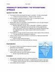 PSYA02H3 Lecture Notes - Sigmund Freud, Hypnosis, Psychodynamics