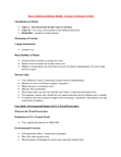 EESA10H3 Lecture Notes - Lecture 5: Bioavailability, Arsenic, Preservative