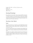 ECON 3R03 Lecture Notes - Cytochrome C Oxidase Subunit I, Ayyubid Dynasty