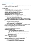 BIOB50H3 Lecture Notes - Lecture 6: Asexual Reproduction, Phenotypic Plasticity, Polyphenism