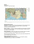 EESA06H3 Chapter Notes - Chapter 2: South American Plate, Mantle Convection, Oceanic Trench